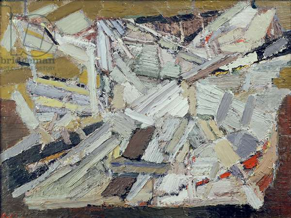 Abstract Composition, 1948 (oil on canvas)