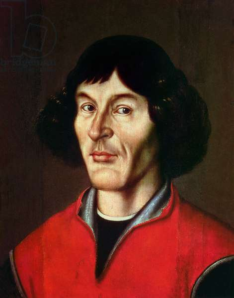 Portrait of Nicolaus Copernicus (1473-1543) (oil on canvas)