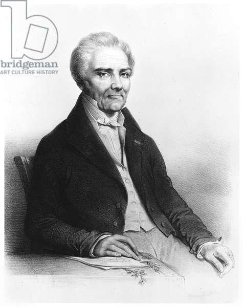 Aime Bonpland (1773-1858) (litho) (b/w photo)
