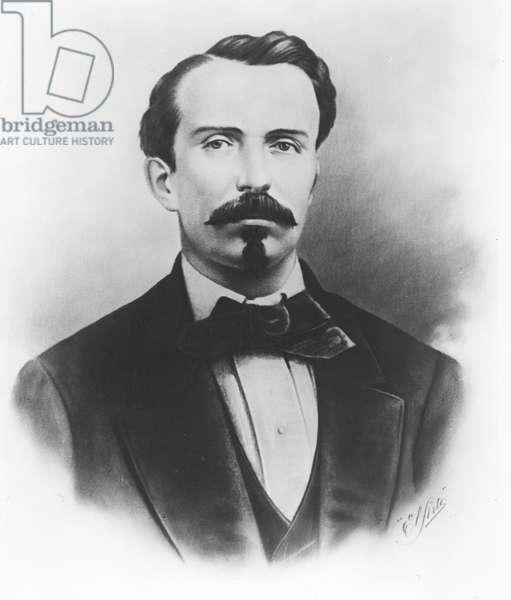 Carlos Manuel de Céspedes del Castillo (litho)