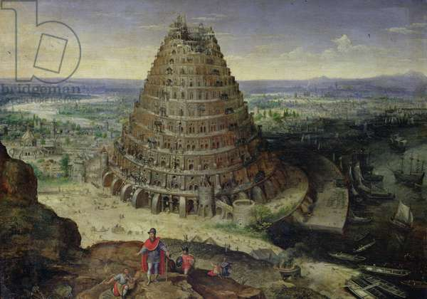 The Tower of Babel, 1594 (oil on panel)
