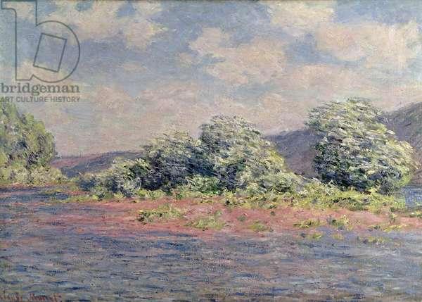 The Seine at Port-Villez, c.1890 (oil on canvas)