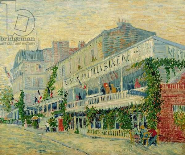 Restaurant de la Sirene at Asnieres, 1887 (oil on canvas)
