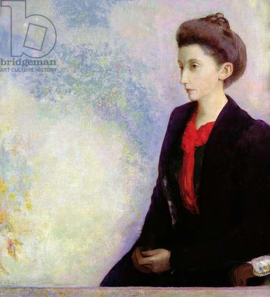 Portrait of Baroness Robert de Domecy, 1900 (oil on canvas)