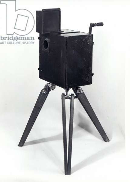 The first Lumiere cinematographe (wood & metal)