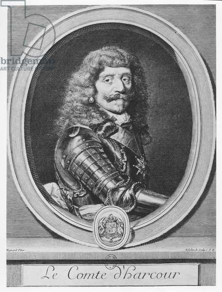 Henri de Lorraine, Comte d'Harcourt (engraving)