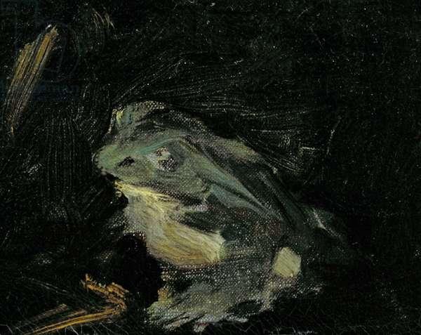 Dejeuner sur l'Herbe, 1863 (oil on canvas) (detail of 2310)