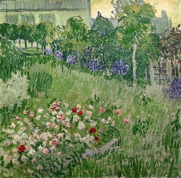Daubigny's garden, 1890 (oil on canvas)
