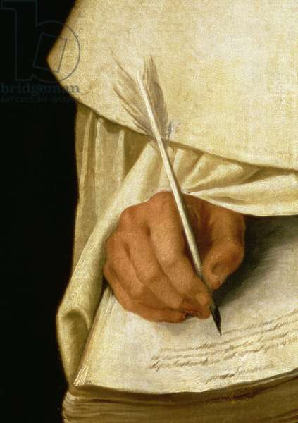 Brother Pedro Machado (d.1604) (oil on canvas) (detail of 221122)