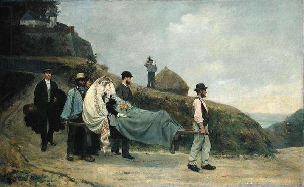 Voyage in Extremis, 1880 (oil on canvas)