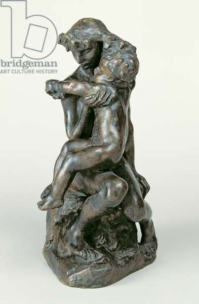 The Brother and Sister, c.1890 (bronze)