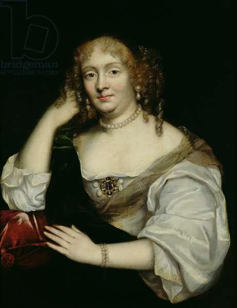 Portrait of Marie de Rabutin-Chantal (1626-97) Marquise de Sevigne, after 1670 (oil on canvas)