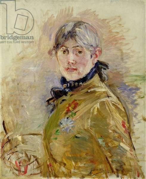 Self Portrait, 1885 (oil on canvas)