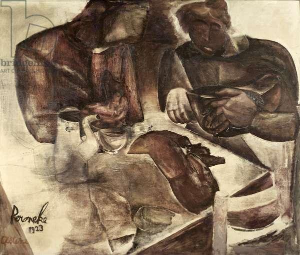 Black Bread, 1923 (oil on canvas)