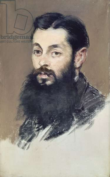 Dr. Materne, doctor of Napoleon III (1808-73) c.1880-81 (pastel on canvas)