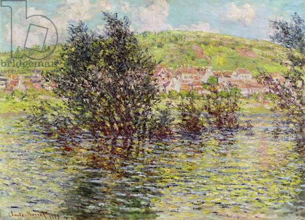 Vetheuil, View from Lavacourt, 1879 (oil on canvas)