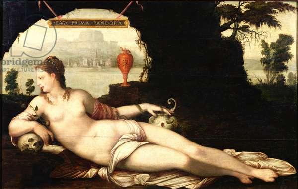 Eva Prima Pandora (oil on canvas)