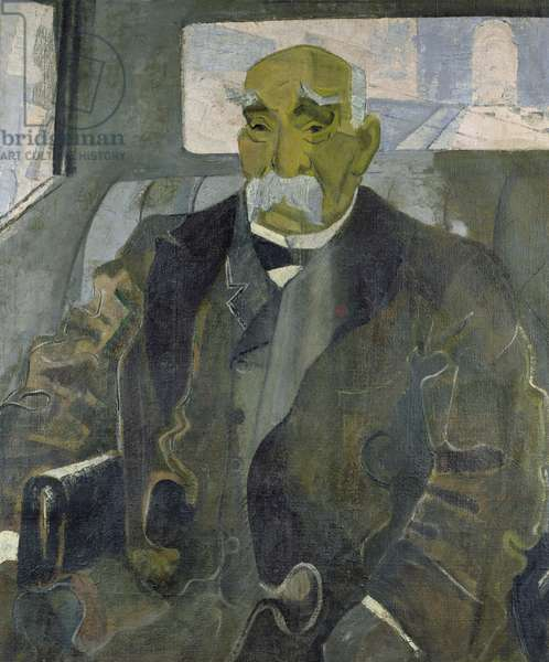 Georges Clemenceau (1841-1929) 1928 (oil on canvas)