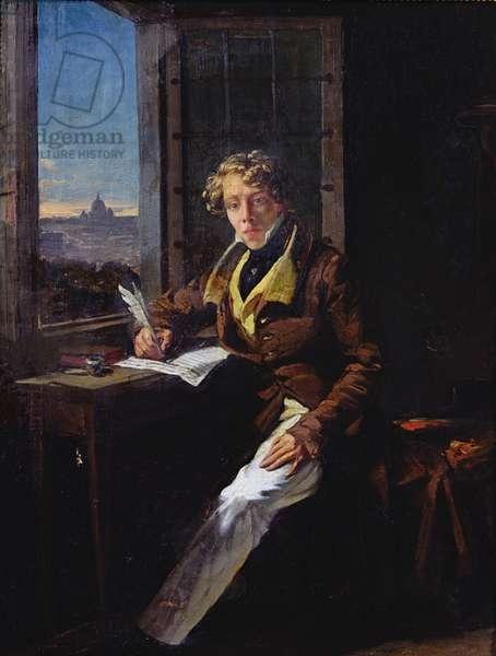 Portrait of Victor Rifaut (1798-1838) 1822 (oil on canvas)