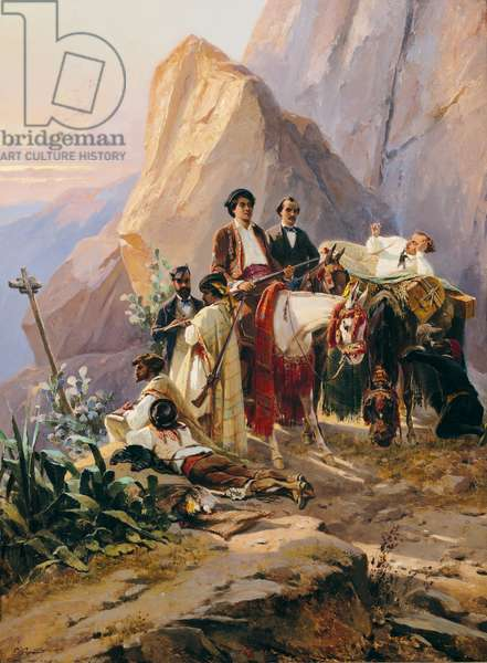 Journey from Paris to Cadiz, 1846 (oil on canvas)