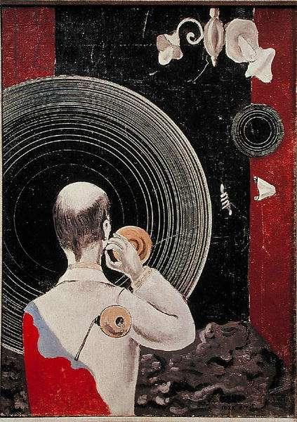 Untitled (Dada) c.1922-23 (oil on canvas)