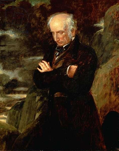 Portrait of William Wordsworth (1770-1850) 1842 (oil on canvas)