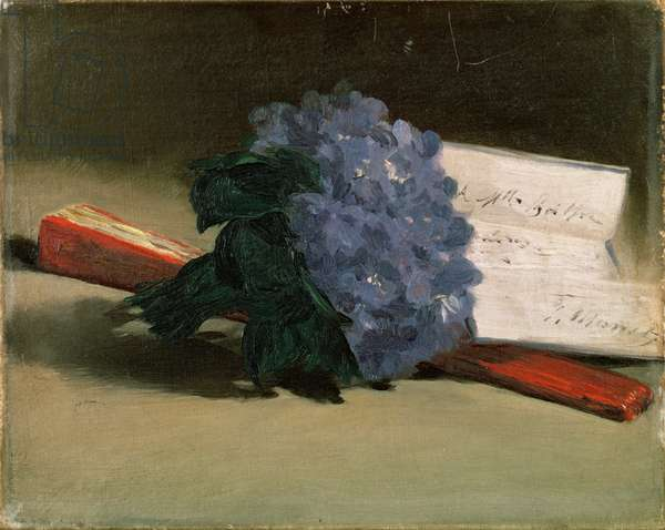 Bouquet of Violets, 1872 (oil on canvas)
