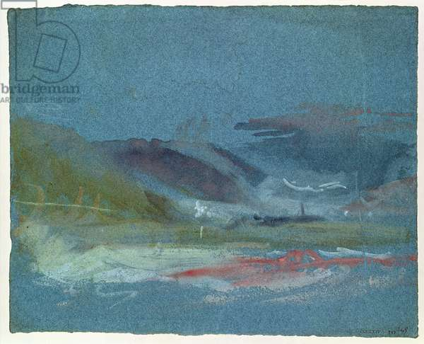 River bank, c.1830 (w/c on paper)