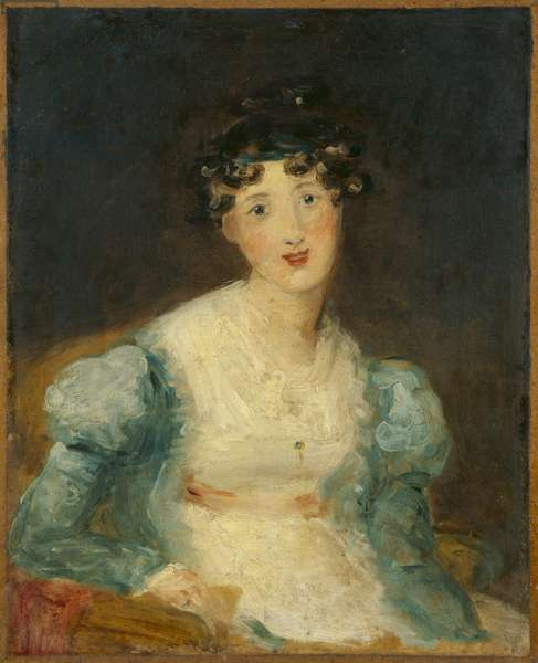 Young Lady Seated (oil on canvas)
