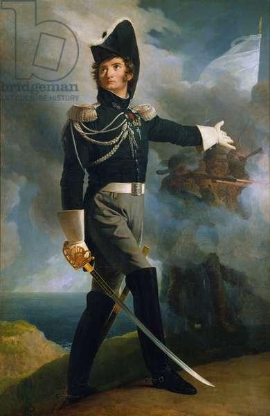 Portrait of Louis du Vergier, 1819 (oil on canvas)