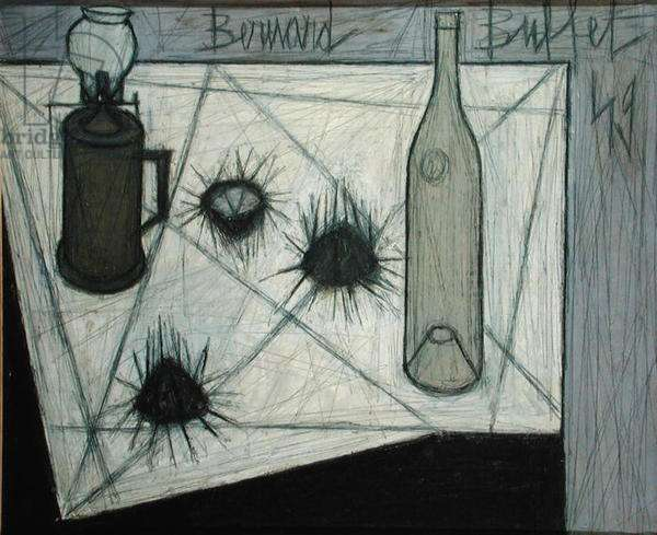 Still Life with Sea Urchins, 1949 (oil on canvas)