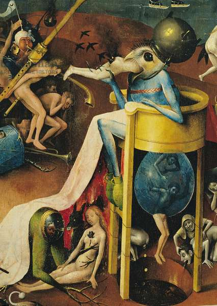 The Garden of Earthly Delights, 1490-1500 (oil on panel)