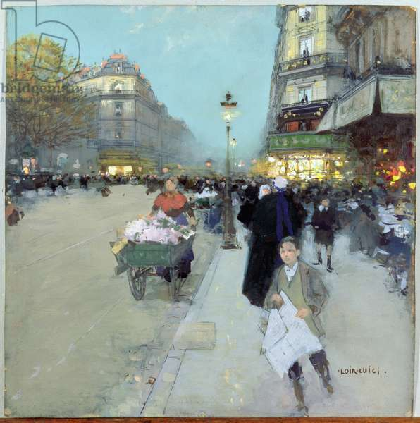 Urban Landscape (oil on canvas)