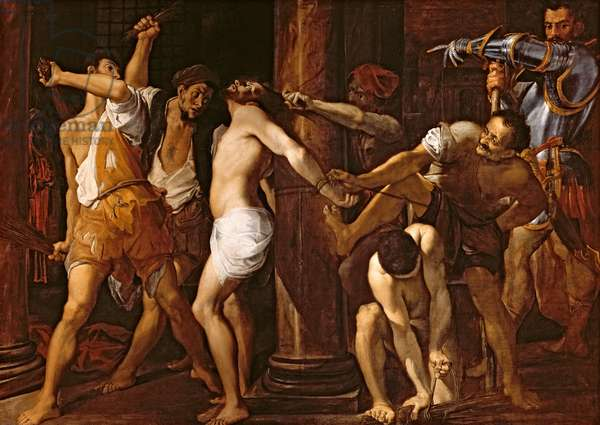 The Flagellation of Christ, 1586-87 (oil on canvas)