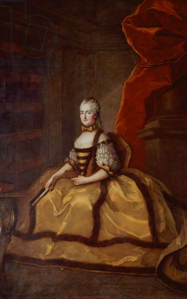 Portrait of Madame Louise of France (1737-87) (oil on canvas)