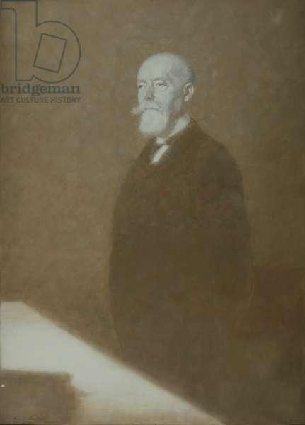 Portrait of Paul Doumer (1857-1932) 1932 (oil on canvas)