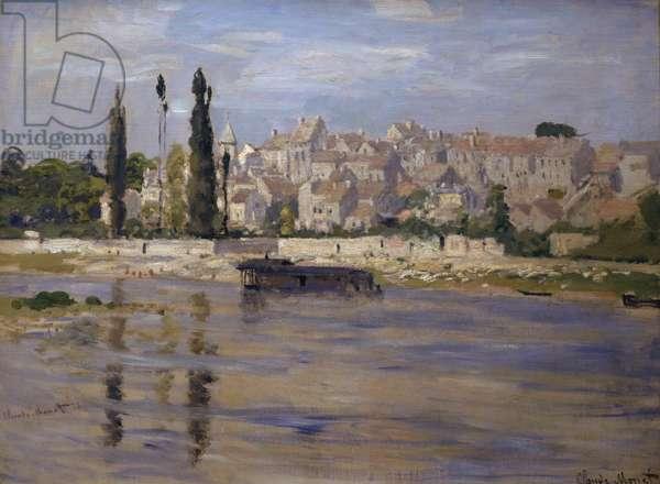 Carrieres-Saint-Denis, 1872 (oil on canvas)