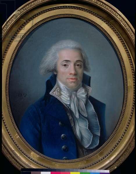 Bertrand Barere de Vieuzac (1755-1841) (pastel on paper)