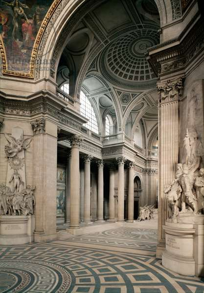 Interior view, 1764-1812 (photo)