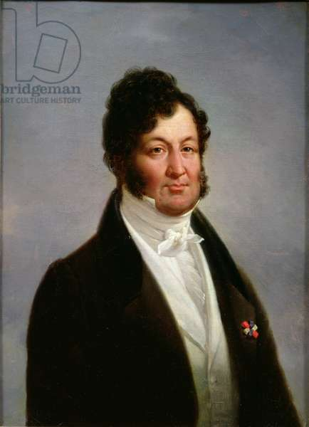 Portrait of Louis-Philippe (1773-1850) King of France (oil on canvas)