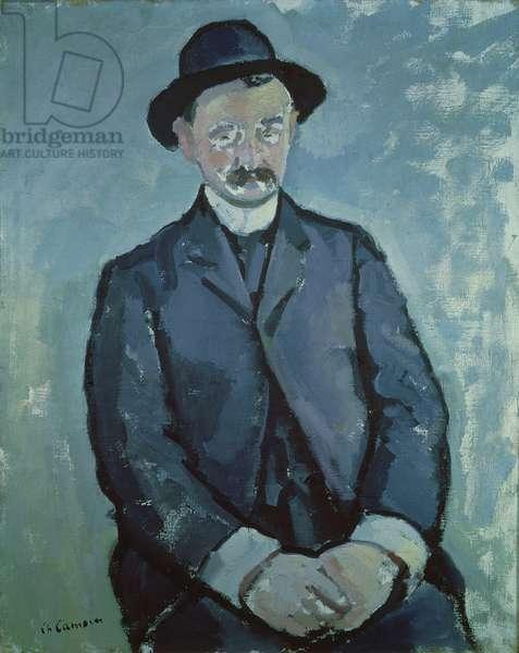 Portrait of Albert Marquet (1875-1947) 1904 (oil on canvas)