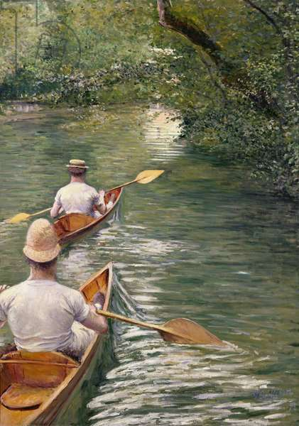 The Canoes, 1878 (oil on canvas)