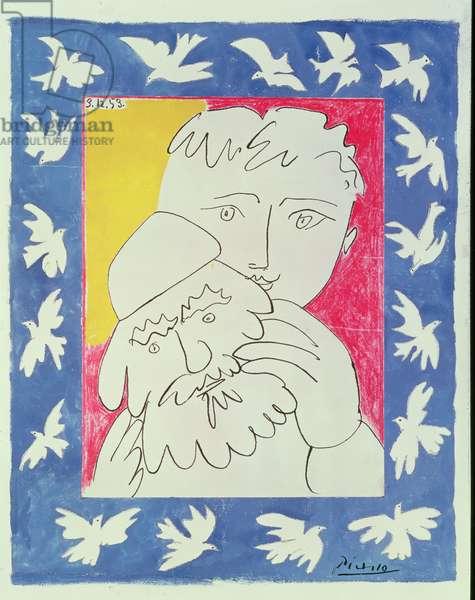 L'Ancienne Annee, 1953 (gouache on paper)
