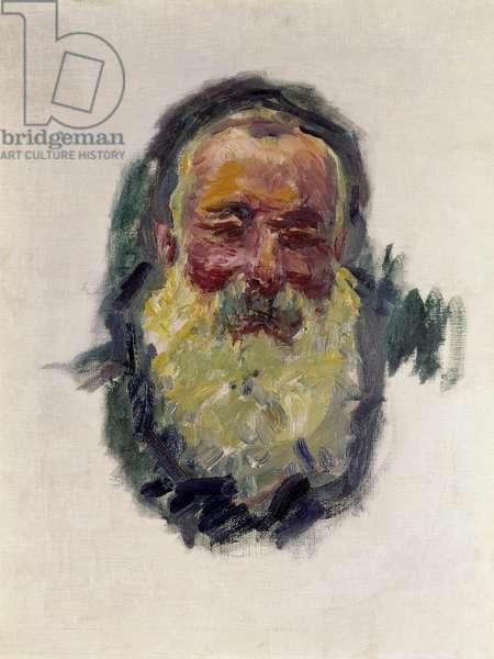 Self Portrait, 1917 (oil on canvas)