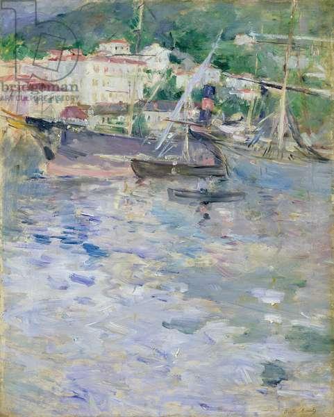 The Port, Nice, 1882 (oil on canvas)