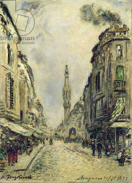Avignon, 1873 (oil on canvas)