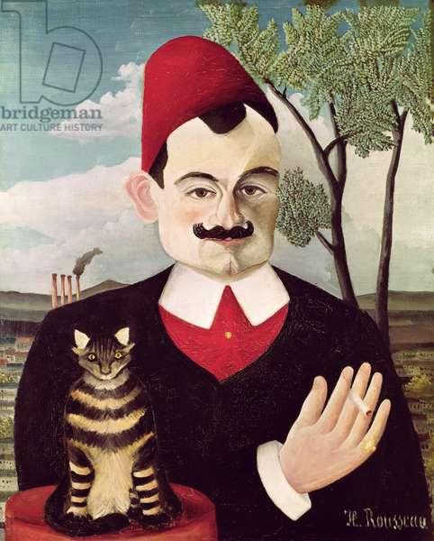 Portrait of Pierre Loti (1850-1923) c.1891 (oil on canvas)