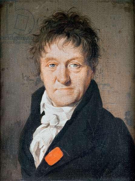 Portrait of Lazare Nicolas Marguerite Carnot (1753-1823) 1813 (oil on canvas)