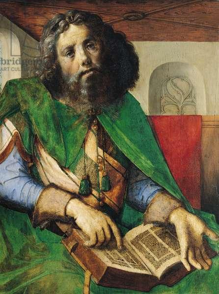 Portrait of Plato (429-347 BC) c.1475 (oil on panel)