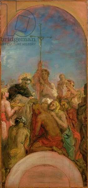 St. Francis Xavier (1506-52) (oil on canvas)